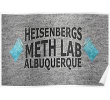 Heisenbergs Meth Lab Poster