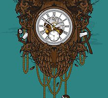 Owl Clock  by ToxicInk
