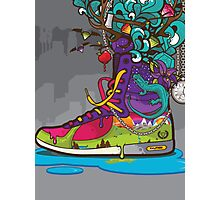 Nature Converse Shoe Photographic Print