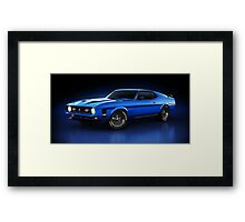 Ford Mustang Mach 1 - Slipstream Framed Print