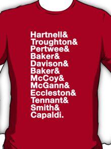 Twelve Doctors T-Shirt