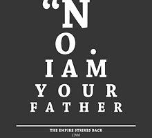 Vader, Eye Chart by Alex Boatman