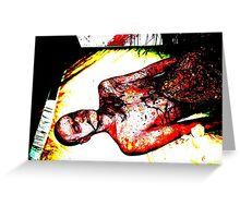 Flesh Eating Virus Greeting Card