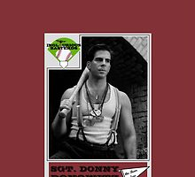 Donny Donowitz Ball Card by Paul Simms