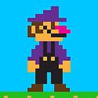 Waluigi iPhone by themaddesigner
