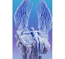 ๑۩۞۩๑BLUE ANGEL..I LAID ME DOWN AND SLEPT.. IPHONE CASE๑۩۞۩๑ by ✿✿ Bonita ✿✿ ђєℓℓσ