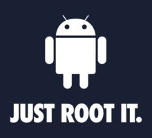Just Root It. (android - white) by axletee