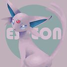 Espeon - Pokémon by KanaHyde