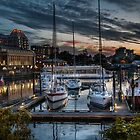 Sunset at the Inner Harbour by Yasmin Simpson