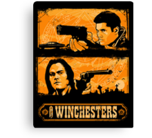 The Winchesters Canvas Print