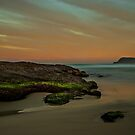 Frazer Beach, Sunset Rocks #1 by bazcelt