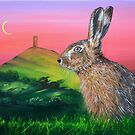 Glastonbury Hare by Mike Paget