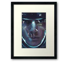 Khan Noonien Singh Framed Print