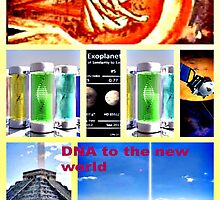 DNA reproduction seeds in space  by DMEIERS