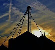 Granary Sunset by BeStillImages