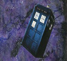 TARDIS in Space by LaainStudios