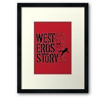 Westeros Story Framed Print