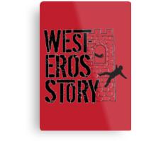 Westeros Story Metal Print