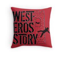 Westeros Story Throw Pillow