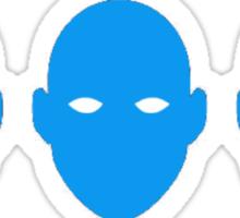 The blue man group-Tobias Sticker
