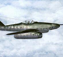 """Messerschmitt Me 262A-1a/U4 """"Pulkzerstorer"""" by Walter Colvin"""