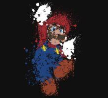 Splatter Mario by alamonica