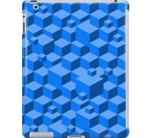 Building Blocks - Blue iPad Case/Skin