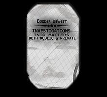 Booker DeWitt by Gabriel Barahona