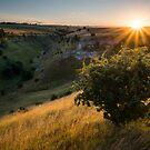 Lathill Dale Sunset by James Grant