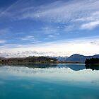 Lake Ruataniwha, New Zealand landscape 2 by jwwallace