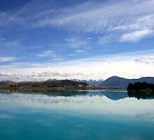 Lake Ruataniwha, New Zealand landscape 2 by jwwallace