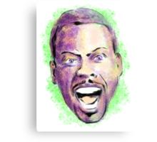 Chris Rock in your face Metal Print