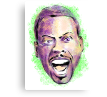 Chris Rock in your face Canvas Print