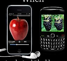 ☝ ☞ LIFE WAS SO MUCH EASIER WHEN APPLE AND BLACKBERRY WERE JUST FRUITS PICTURE/CARD☝ ☞ by ✿✿ Bonita ✿✿ ђєℓℓσ