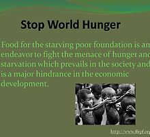An action against hunger  by FFSPF