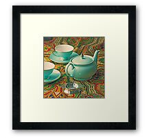 Anyone for a cuppa? Framed Print