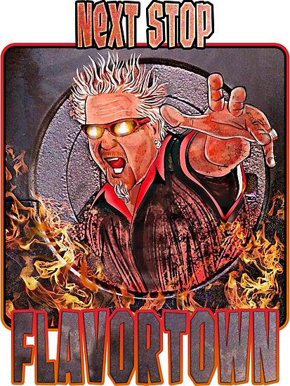 Guy Fieri - Next Stop Flavortown by uberdoodles