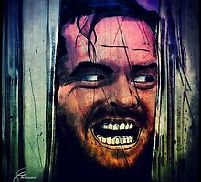 Shining on Jack Nicholson by themighty
