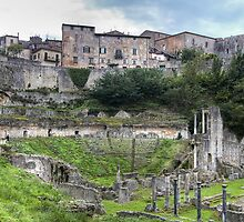 Roman Theatre of Volterra by paolo1955