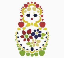 Fruit Matryoshka Doll by eryka
