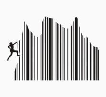 Climbing Barcode by GenerationShirt
