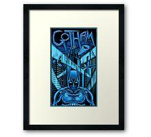 Guardian of Gotham Framed Print