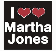 I <3 Martha Jones by ashden