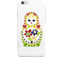 Fruit Matryoshka Doll iPhone Case/Skin