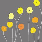 Yellow Poppies by VieiraGirl