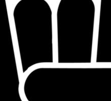 Devilhand - Pommesgabel - Rock Hand Sticker