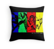 cowboyb Throw Pillow
