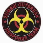 Walking Dead Zombie Response Team Bio Hazard Funny Spoof by sturgils
