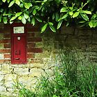 A Post Box In Wales. by Eve Parry