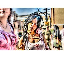 Hot Female Zombie Photographic Print